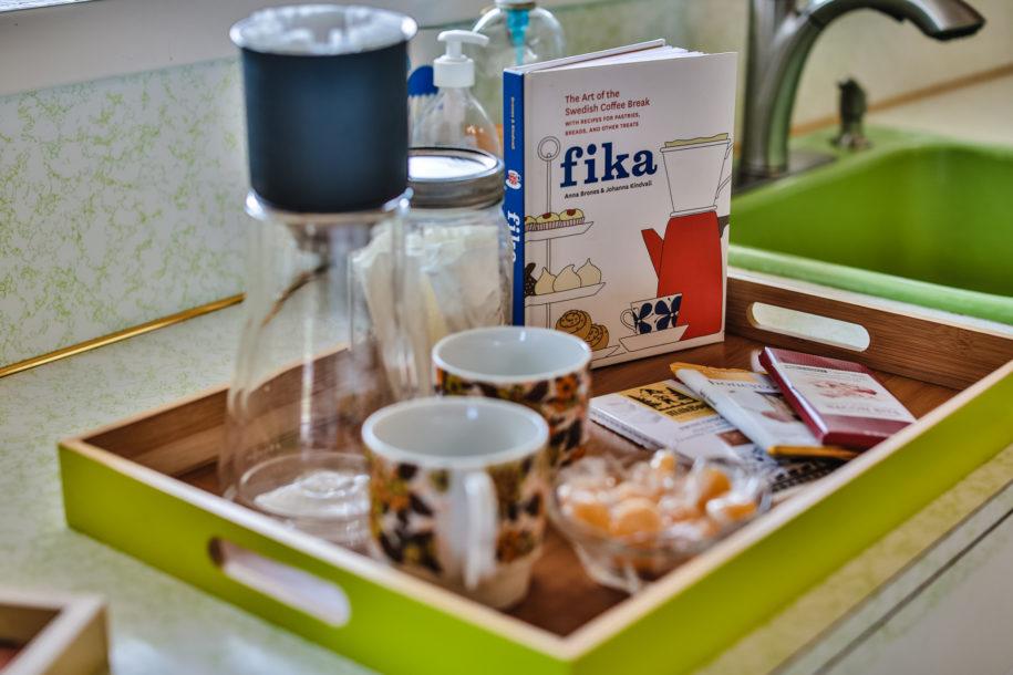 The Magic of Fika at Lake Diva